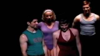 "Chryssie Whitehead in A CHORUS LINE Broadway ""SING"""