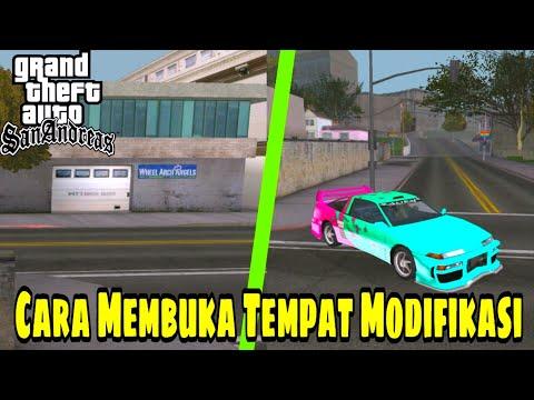 Video CARA MEMBUKA TEMPAT MODIFIKASI (stealing car 2) - Gta San Andreas Android