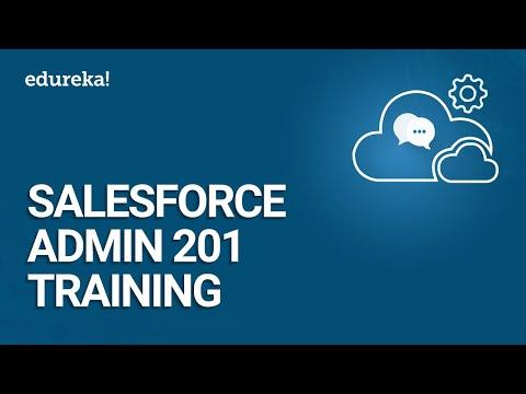 Salesforce Training Video For Beginners   Salesforce Admin 201 ...
