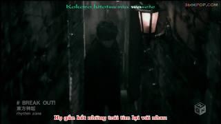 [vietsub + kara][PV] Break out - DBSK