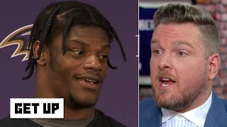 Pat McAfee predicts Lamar Jackson and the Ravens will be in the Super Bowl | Get Up