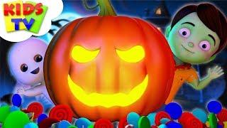 Junior Squad Halloween Rhymes   Kids Videos   Kindergarten Songs For Children by Kids Tv