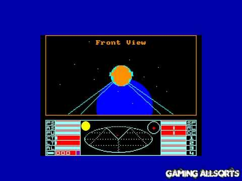 Elite - Amstrad CPC (Firebird 1985 - by David Braben & Ian Bell) CPCE Emulator