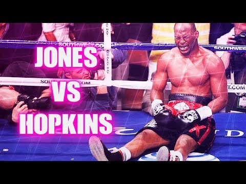 Roy Jones Jr vs Bernard Hopkins II (Highlights)