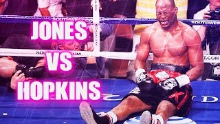 Roy Jones Jr vs Bernard Hopkins II (Highlights)