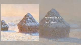 Polonaise in Bb, B. 3