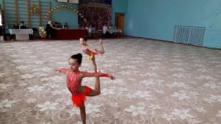 София Иванова гимнастка из Нальчика на турнире во Владикавказе апрель 2016
