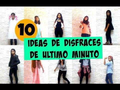10 IDEAS DE DISFRACES RÁPIDOS Y FÁCILES DE ÚLTIMO MINUTO  | ItsMariana