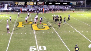 Prairie Grove (32) vs Gentry (7) 2017