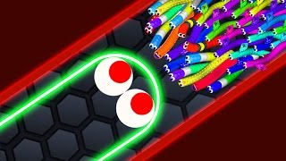 Slither.io - LUCKY GIANT SNAKE vs 14500 SNAKES! // Epic Slitherio Gameplay (Slitherio Funny Moments)