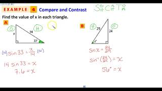 8-3 Solving Right Triangles