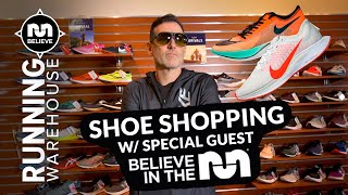Believe in the Run goes Running Shoe Shopping with Running Warehouse