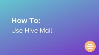 Hive video