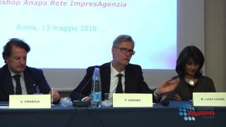 Intervento del Vice Presidente Paolo Iurasek - Workshop ANAPA 13.05.2016