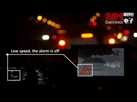 Chinese Thermal Driving Assistant Camera