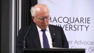Master Class in Public Diplomacy - Hon. John Howard OM AC Lecture