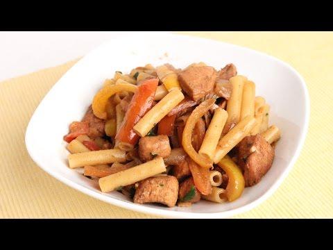 Chicken Fajita Pasta Recipe – Laura Vitale – Laura in the Kitchen Episode 963