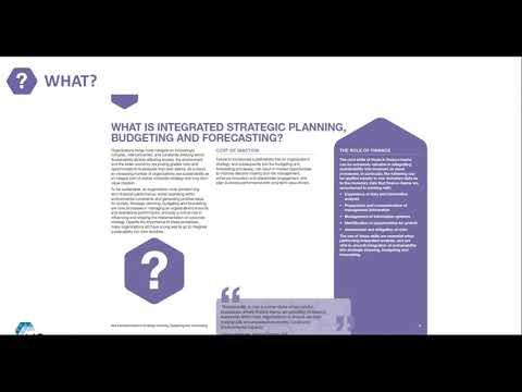 Webinar - Strategic Planning, Budgeting and Forecasting - YouTube