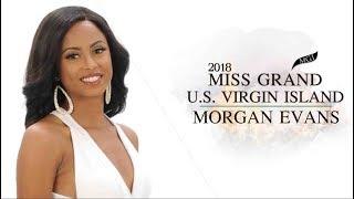 Morgan Evans Miss Grand United States Virgin Islands 2018 Introduction Video