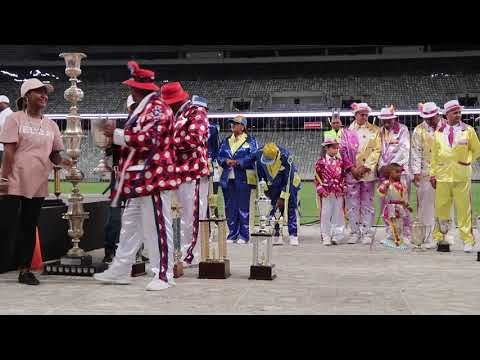 Results Champs of Champs Cape Town Minstrel Carnival @ Cape Town Stadium 2018