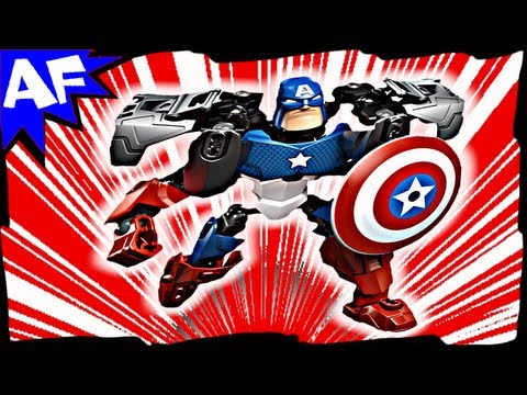 Vidéo LEGO Marvel Super Heroes 4597 : Captain America