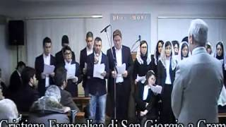 preview picture of video 'Coro giovani chiesa Adi S.Lucia 10.03.12 visita comunità San Giorgio'