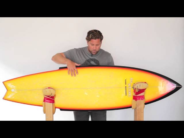Mark Richards Da Sting Surfboard Review no.30 | Benny's Boardroom - CompareSurfboards.com