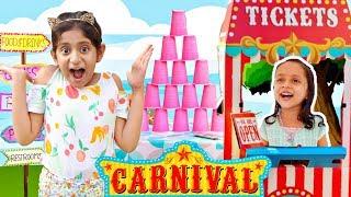 Anantya & Anaya Pretend Play Super Cool CARNIVAL/MELA   #MyMissAnand #Dussehra #DurgaPuja #Toystar