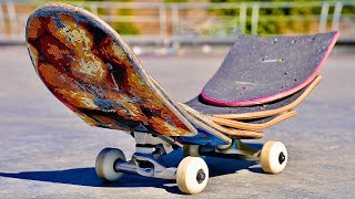 You've never seen a SKATEBOARD like this!