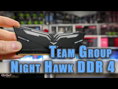 #0140 – Team Group Night Hawk DDR4 Gaming Memory