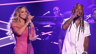 Mariah Carey Ft. Ty Dolla $   The Distance Live At Late Night Show With Jimmy Fallon