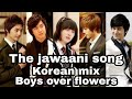 The jawaani song (Student of the year 2) Korean mix Boys over flowers