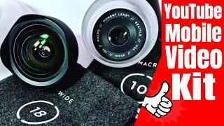 Smartphone Mobile Video Kit - My YouTube EDC Video Equipment List