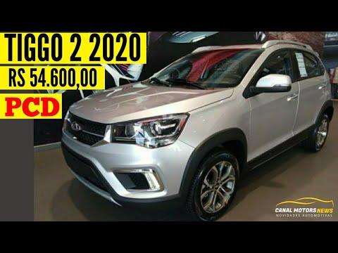 CHERY TIGGO 2 PCD 2020 POR R$ 48.544,00   CANAL MOTORS NEWS