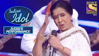 Asha ताई ने दिया एक Grand Medley Performance | Indian Idol | Judges Performances