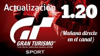 Gran Turismo Sport - Actualización 1.20 esta semana (y mañana directo en el canal)
