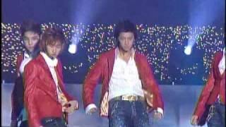 Super Junior 2006 U + Tic Toc (Live) 紅白西裝
