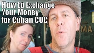 Cuban Money, How to exchange your Money Currency for CUC at the counter, Varadero Cuba #35