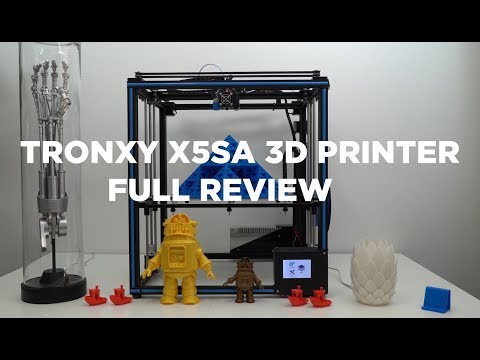 Tronxy X5SA 3D printer review – Terminator T800 Arm 3D printed