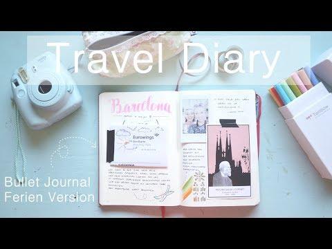 Ferien Bullet Journal Ideen | So führe ich mein Reisetagebuch