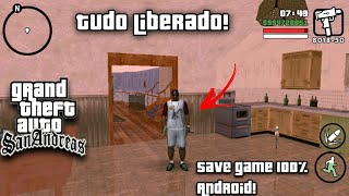 gta san andreas save game 100 complete download android - TH