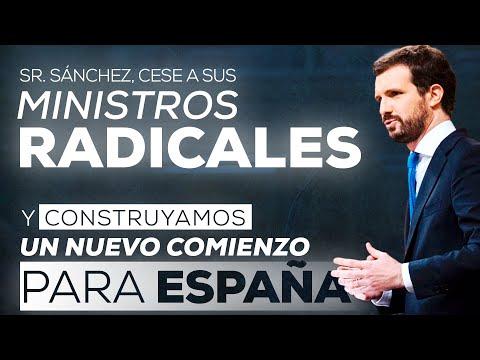 Intervención de Pablo Casado en el debate sobre el...
