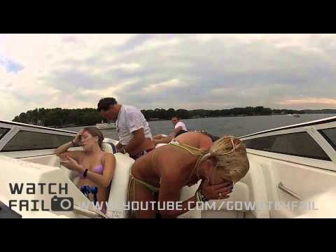 Seven Person Boat Crash || Fail - August 2012 || WatchFail