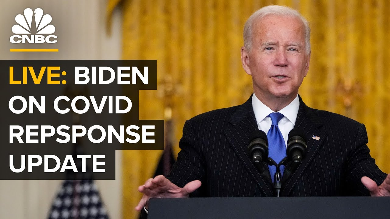 LIVE: President Biden supplies updates on Covid-19 reaction and vaccination program-- 10/14/21 thumbnail