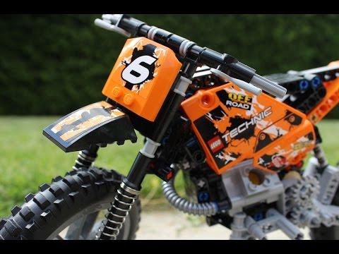 Vidéo LEGO Technic 42007 : La moto cross