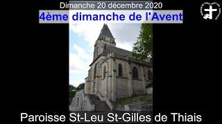 2020-12-20 – Messe du 4ème dimanche de l'Avent