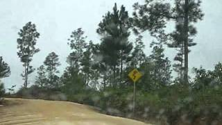 preview picture of video 'Driving in Belize'