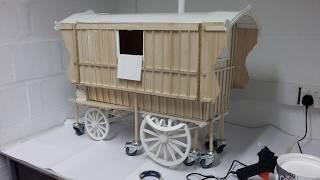 May 2018: Wooden Caravan Replica