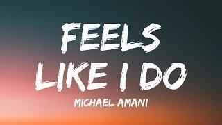 Michael Amani ‒ Feels Like I Do (Lyrics ) feat  Emelie