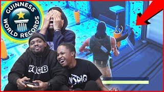 *NEW WORLD RECORD* The Worst Attempt At Cizzorz's Deathrun Challenge!